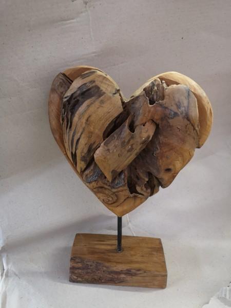 Skulptur Herz