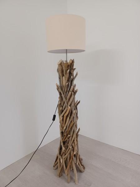 Lampe Drift Wood mit Lampenschirm