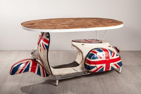 Schreibtisch Vespa Union Jack