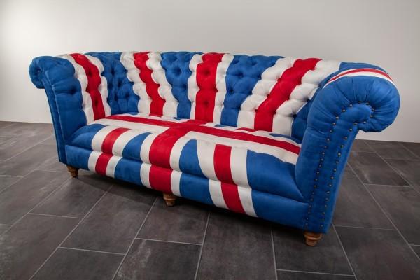 Sofa Chesterfield Union Jack