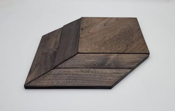 Wandverkleidung Rhombus dark