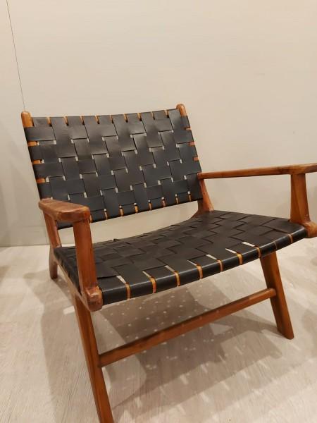 Relax Leder Stuhl mit Armlehnen